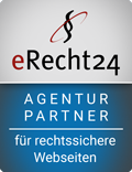 eRecht24 agency partner for legally secure websites